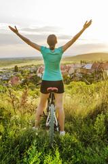 Freedom - Moutain bike woman