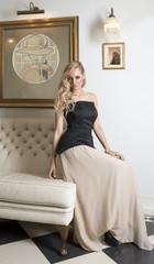 pretty elegant girl indoor