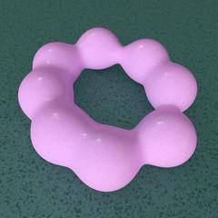 Mycoplasma - 3d Render
