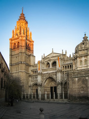 Cathedral at Toledo, Castilla la Mancha, Spain