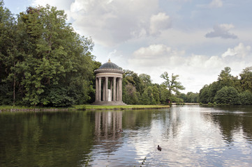 Monopteros in Nymphenburg Park