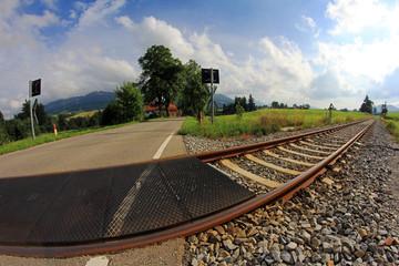 Der Bahnübergang