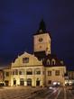 Brasov Council Building on Piata Sfatului. Romania