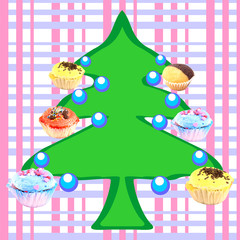 Muffins tree