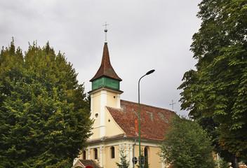 Hungarian evangelical church in Brasov. Romania
