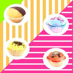 Muffins wallpaper