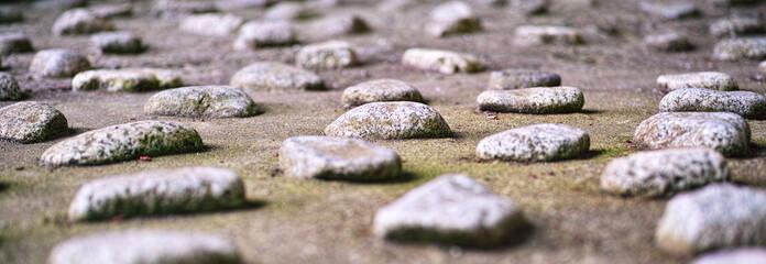 小石の背景