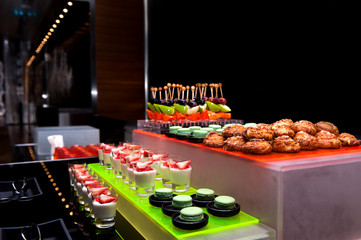 Catering Counter, coffee break snacks