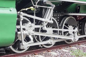 Old train vintage , Train wheel