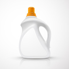 blank laundry detergent bottle
