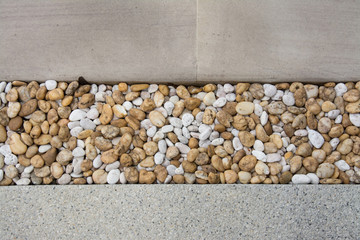 pattern of gravels with Tiles