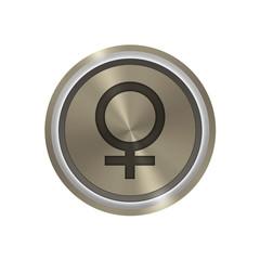 Icone en bronze : femelle