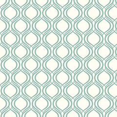 seamless pattern lines and curve vector background