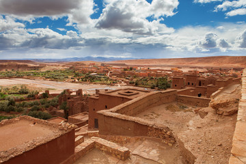 view from Kasbah Ait Benhaddou (Morroco)