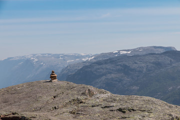 Lysefjord Stone Sculpture
