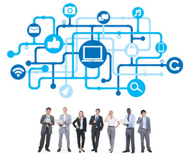 Business People and Internet Concepts