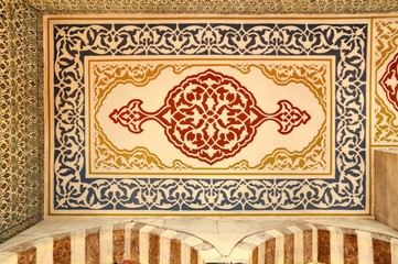 Small Ceiling details of Blue Mosque