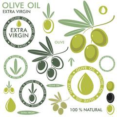 Olive. Set
