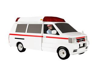 救急車と救命士