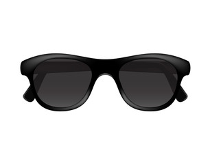 Retro glasses in dark design