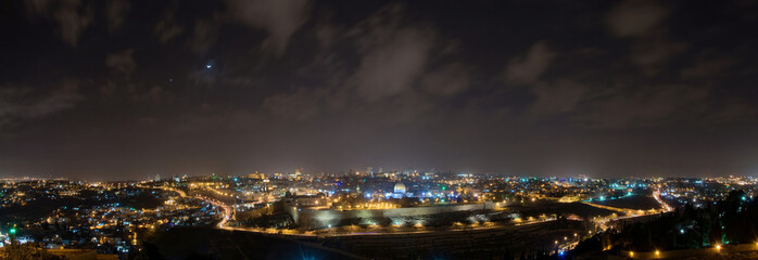 Jerusalem bei Nacht II