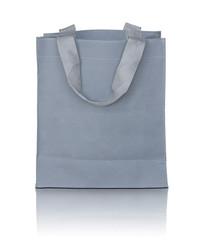 gray canvas bag