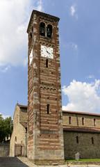 st. Peter church bell-tower, Agliate