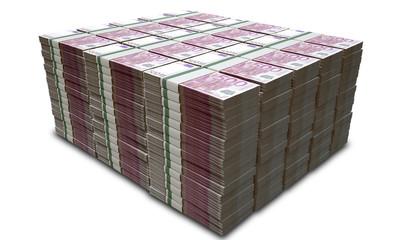 Euro Notes Pile