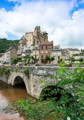 Estaing Medieval Village, Midi - Pyrenees, France