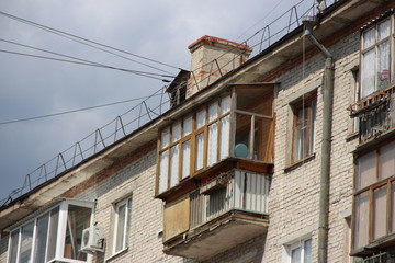 typical Soviet architecture