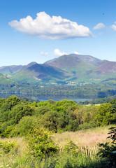View Castlerigg Hall Keswick Lake District to Derwent Catbells