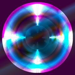 glowing circle