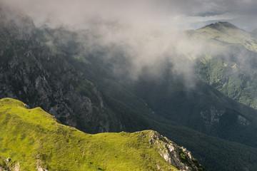 Vista tra le nuvole, Gran Sasso d'Italia