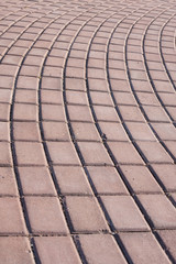 Brick Walk Way
