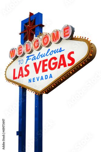 Fotobehang Las Vegas Welcome to Las Vegas Sign