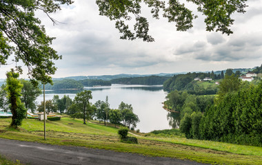 Lac Du Barrage De Saint Etienne Cantales near Aurillac France