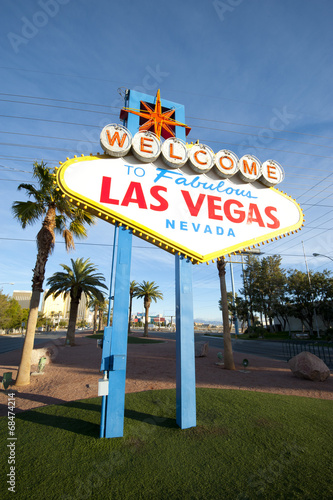Foto op Aluminium Las Vegas Welcome to Las Vegas Sign