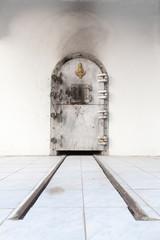 Buddhistisches Krematorium in Thailand