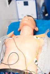 podłączenie elektrod