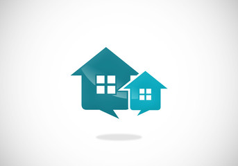 homes sale properties icon vector