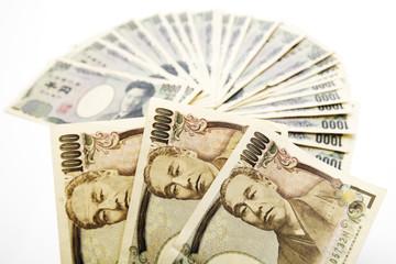 Japanische Devisen, zehntausend Yens