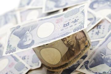 Japanische Devisen, tausend Yens