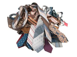 Pile of neckties