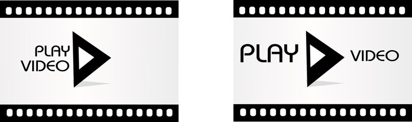Play video template