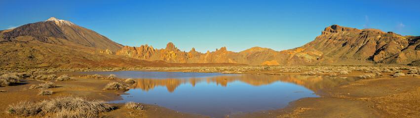 Panorama des Vulkan Teide und Caldera Las Canadas auf Teneriffa