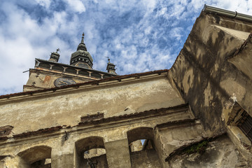 Clock Tower of Sighisoara citadel, Romania