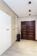 Modern anteroom in the apartment