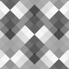 Monochrome gray seamless pattern geometric