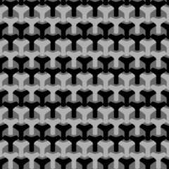 Abstract seamless houndstooth pattern