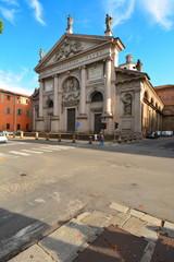 plaisance en italie, église san agostino
